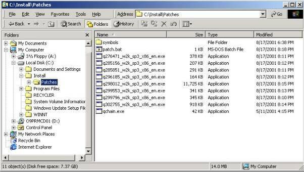 Batch-Installing Multiple Hotfixes - PC 911