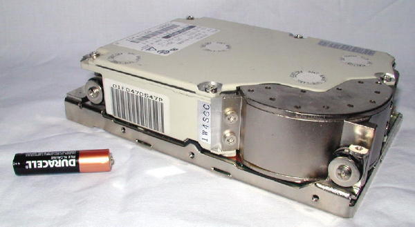 """""""The Tank"""" - a monster 1 Gig SCSI drive"""