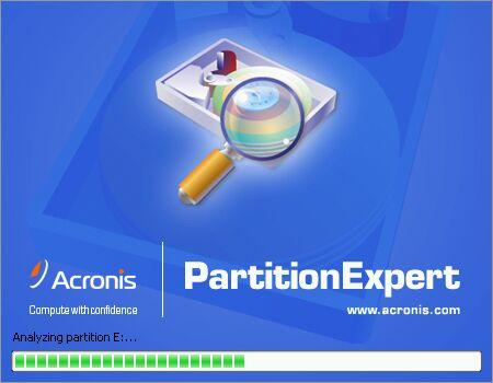 acronis partition